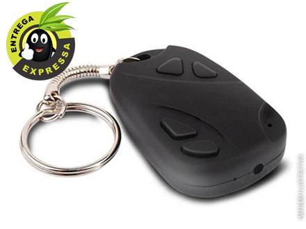Chaveiro Espião com Câmera Escondida de Alta Resolução com ou sem Cartão de Memória de 4GB ou 8GB Sandisk, a partir de 47,90.