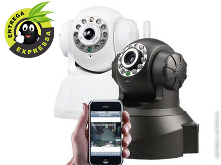 Câmera de Segurança, Vigilância e Monitoramento com Internet Wi-fi, por apenas 197,90.
