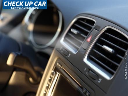 Higienização de Ar Condicionado Veicular na Chekup Car Centro Automotivo, de 75,00 por apenas 14,90.