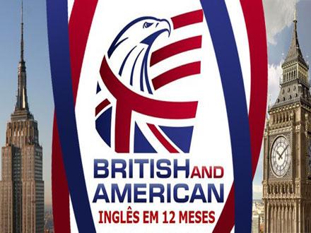 Saia falando Inglês em 12 Meses na British and American! Primeira mensalidade por apenas 49,00 + Bônus!