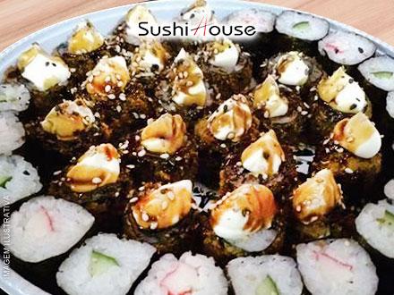 Simplesmente Imperdível!! Cupons Limitados!! Combinado com 30 Peças Variadas no Sushi House, de 40,00 por apenas 9,99.