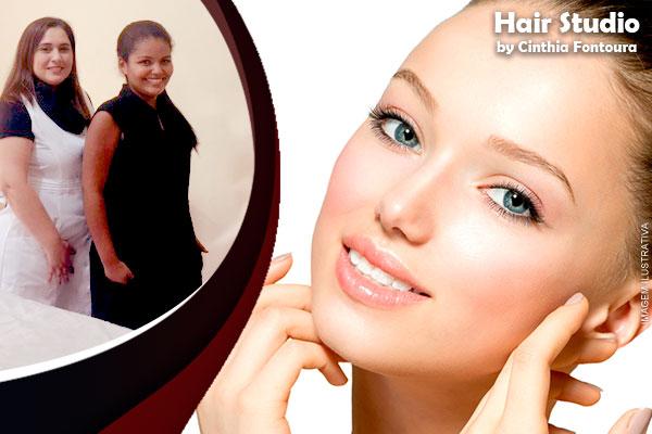 Seu rosto lisinho! Sessão de Depilação Threading no Hair Studio, de 25,00 por apenas 9,90.