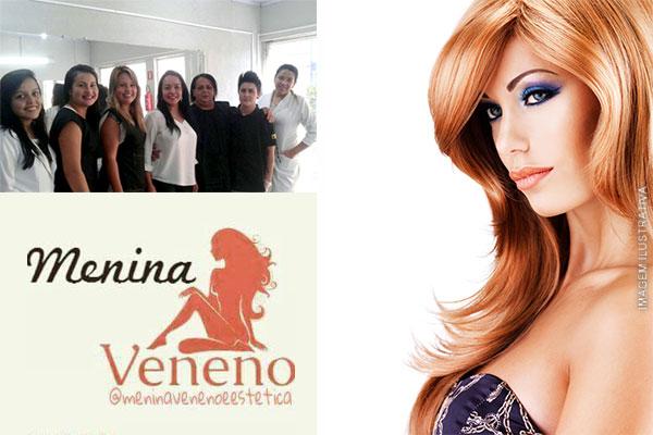 Brilho, maciez e sedosidade! Botox Capilar no Centro de Estética Menina Veneno, de R$ 120,00 por apenas 39,90.