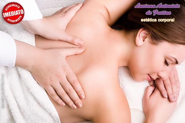 10 Sessões de Massagem Modeladora + Aparelho (Ultrassom, Corrente Russa, Manta ou Plataforma Vibratória): 189,90.