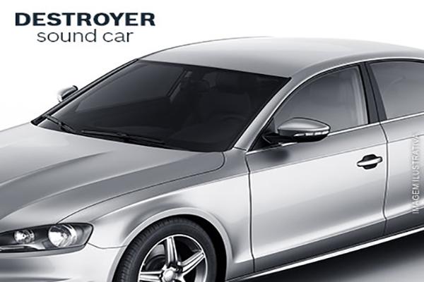 Película Protetora Automotiva (Insulfim) + Aplicação para qualquer carro de passeio no Destroyer Sound Car por apenas 79,90.