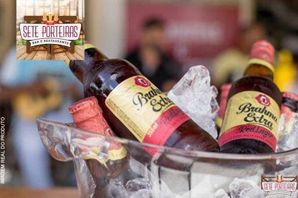 6 Cervejas Brahma Extra (355ml) - Red Lager no Sete Porteiras, por apenas 14,99. Compre quantos cupons quiser!