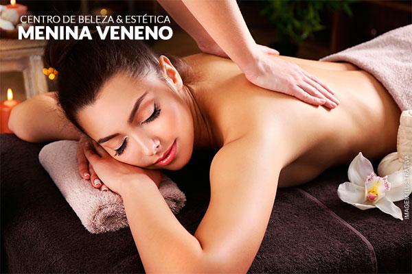 10 Sessões de Massagem Redutora + Modeladora + Drenagem + Ativos Redutores + Plataforma + Ultrassom, por 149,00.