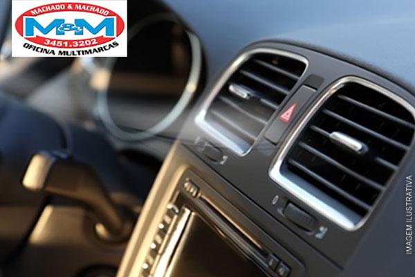 Higienização de Ar-Condicionado Automotivo + Troca do Filtro de Ar no Machado Bosch Car Service, de 118,00 por apenas 29,90.