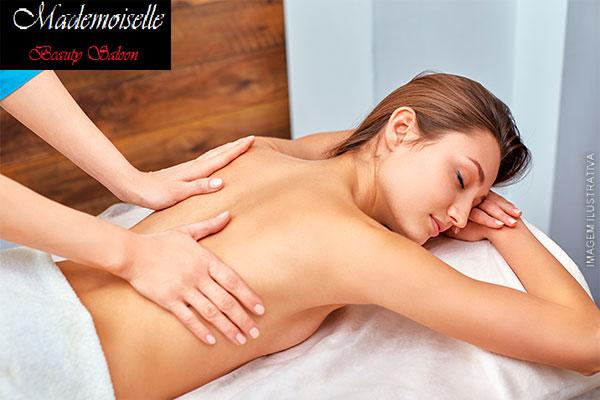 5 Sessões de Massagem Relaxante no Mademoiselle Saloon com Kelly Durante, por 29,90! Atendimento imediato!