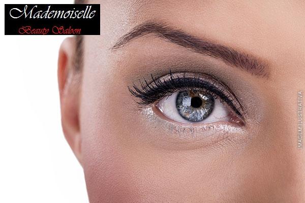 Seu olhar marcante! Design de Sobrancelha com Fernanda Barbosa no Mademoiselle Saloon, de 40,00 por 9,90.