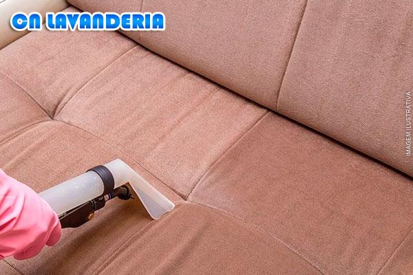 Limpeza e Higienização de Estofado Residencial à Domicílio na CN Lavanderia, de 180,00 por 99,99. Parcele em até 6 vezes!